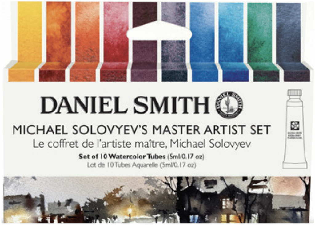 MICHAEL SOLOVYEV'S MASTER ARTIST SET