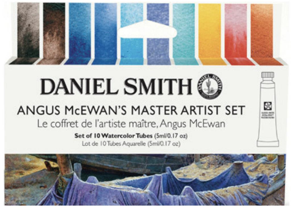 ANGUS McEWAN'S MASTER ARTIST SET