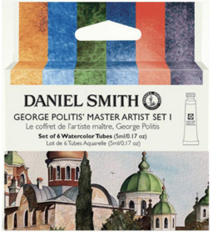 GEORGE POLITIS' MASTER ARTIST SET 1